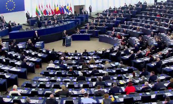 Alexander Van der Bellen addresses the EU Parliament