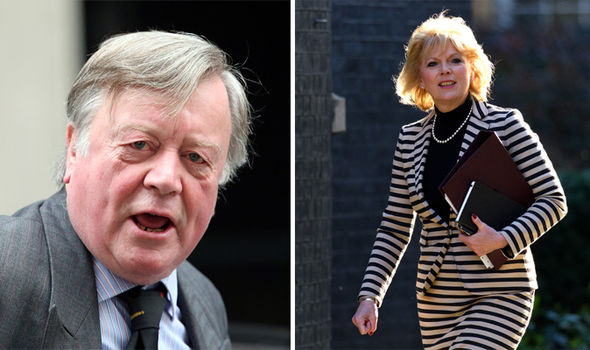 Ken Clarke and Anna Soubry are rumoured to be part of the Tory rebellion