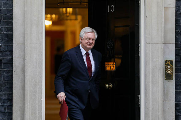 David Davis leaving number 10