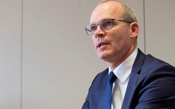 brexit news simon coveney lord frost nortern ireland protocol