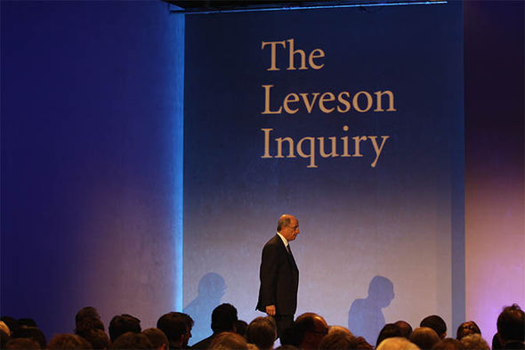 Leveson Inquiry presentation