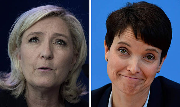 Frauke Petry and Marine Le Pen