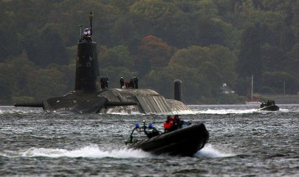Trident submarines
