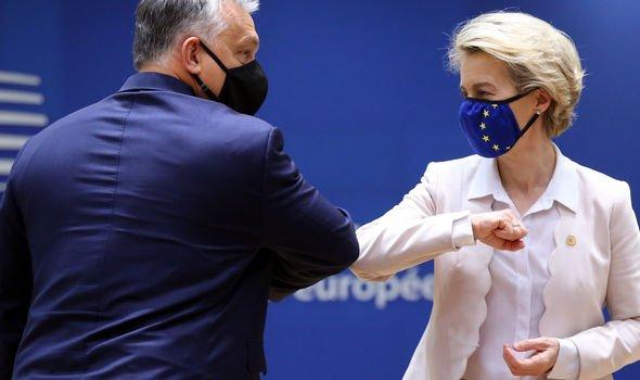 Viktor Orban and Ursula von der Leyen