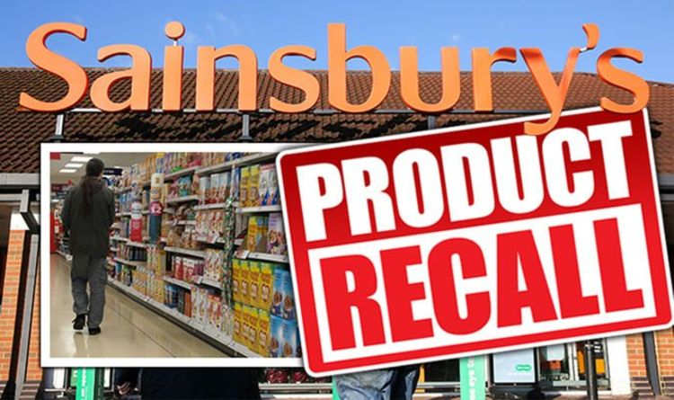Sainsbury's issues urgent recall on baby food due to presence of plastic - full list