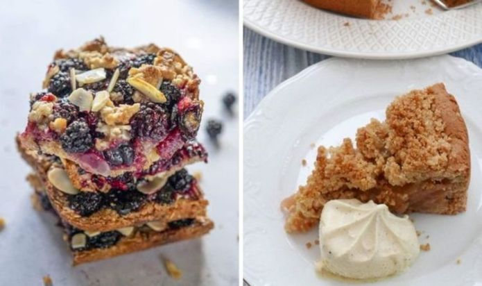How to make crumble: easy recipe for gingerbread and apple crumble