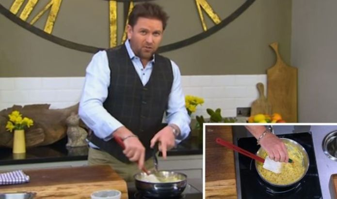 James Martin shares easy Welsh rarebit recipe for an Easter weekend treat