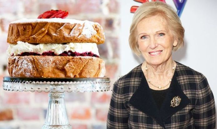 Mary Berry shares 'perfect' Victoria sponge cake recipe using 'all in one' method