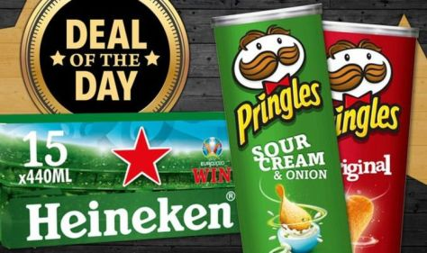 DEAL OF THE DAY: Tesco launch picnic food offers and slash 40 percent off snacks and beer