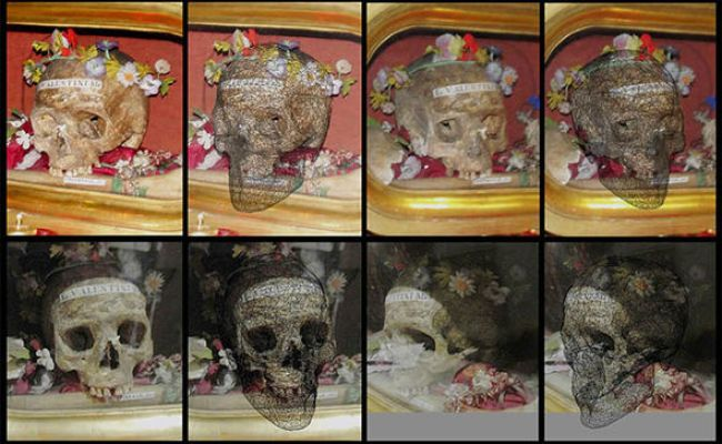 Saint Valentine S Face Revealed Thanks To Miracle Of 3d