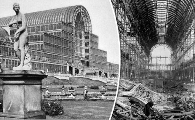 Crystal Palace Burnt Down 80 Years Ago But What Happened