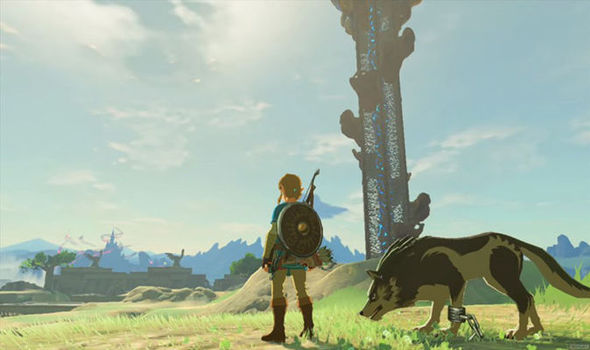 Legend of Zelda Breath of the Wild gold Nintendo Switch sequel news