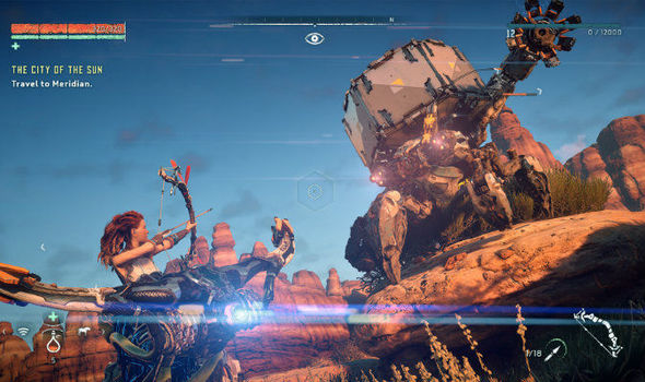 Horizon Zero Dawn PS4 screenshots release date