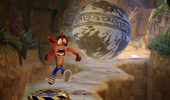 Crash Bandicoot PS4 release date screenshots