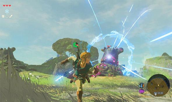 Zelda Breath of the Wild Wii U Nintendo Switch loading