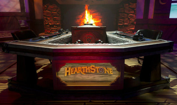 Hearthstone Championship 2017 Winter finals Blizzard Freeze Mage deck