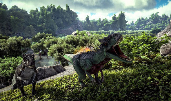 The new ARK Survival Evolved update releases today