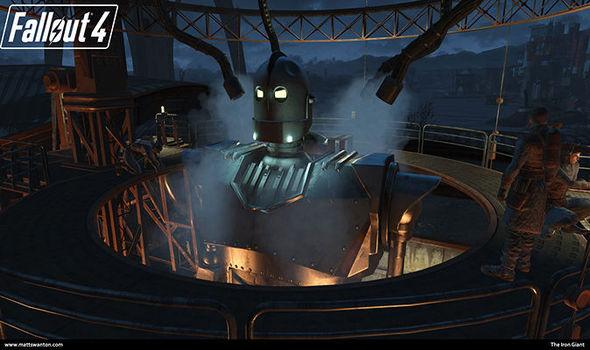 Fallout 4 Iron Giant Nexus mod