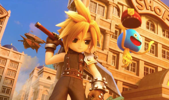 Final Fantasy 7 News Iconic Characters Return In PS4 And PS Vita Game Out This Year Gaming