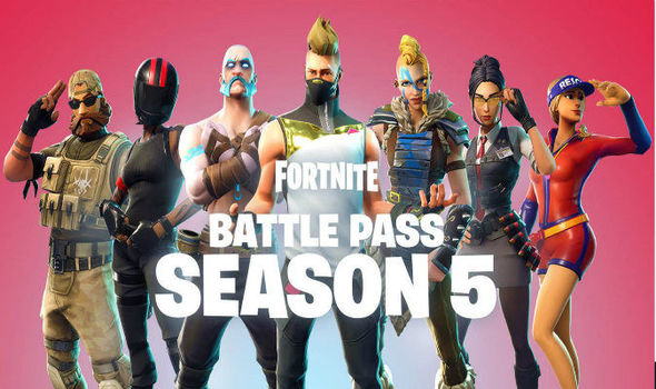 New Fortnite battle pass skins and season 5 cosmetics revealed