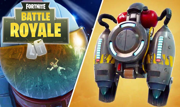 Fortnite update - Jetpack launch Battle Royale