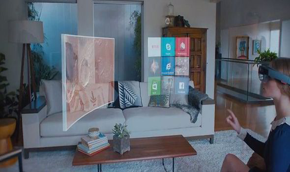 Windows Holographic With HoloLens Clever New Device Will