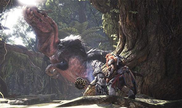 Monster Hunter World meets Horizon Zero Dawn