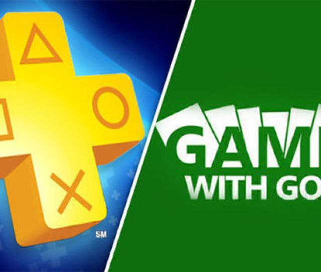 Ps Plus V Xbox Games With Gold