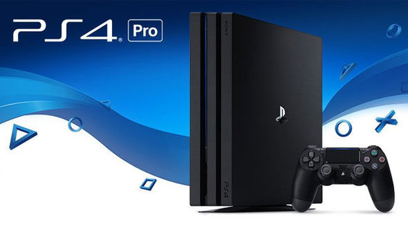 PS4 PRO game console