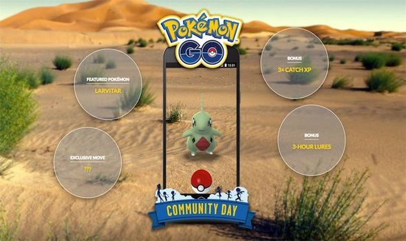 Pokemon Go Community Day Larvitar