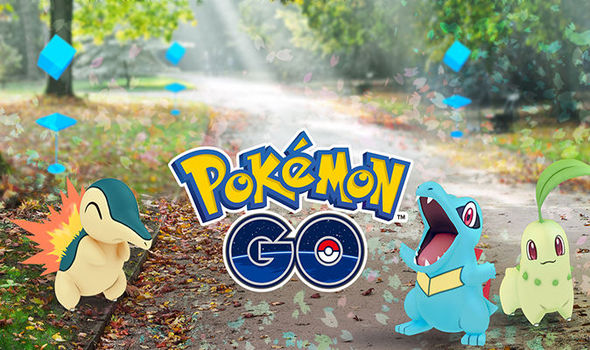 Pokemon Go Gen 2 update screenshot