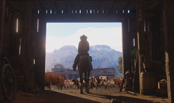 Red Dead Redemption 2 trailer screengrab