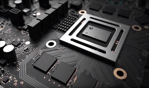 Xbox Scorpio 4K gaming chip