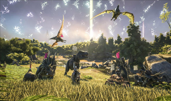 The new ARK Survival Evolved update could arrive on PS4 and Xbox One later today