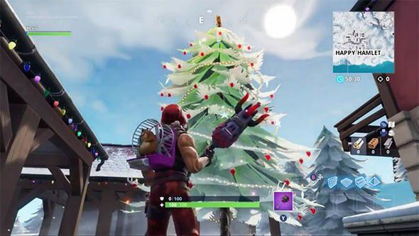 Fortnite 14 Days of Christmas