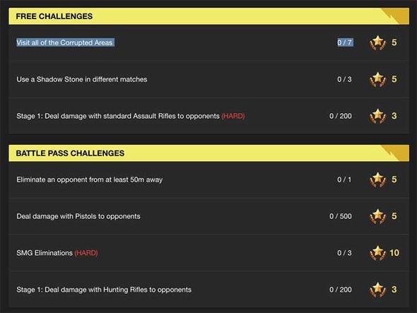 Fortnite season 6 week 2 challenges