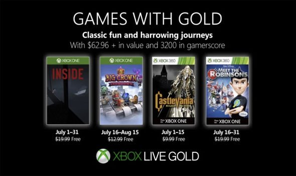 Xbox Games With Gold August 2019 Here S When Xbox Free