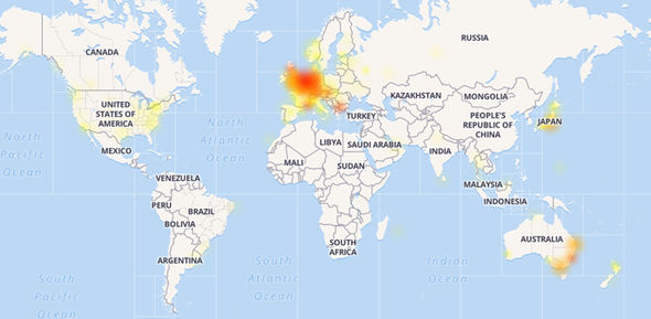 PlayStation Network users across the UK, Europe, United States, and Austria are experiencing outages