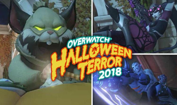 Overwatch Halloween 2018 COUNTDOWN Skins Halloween