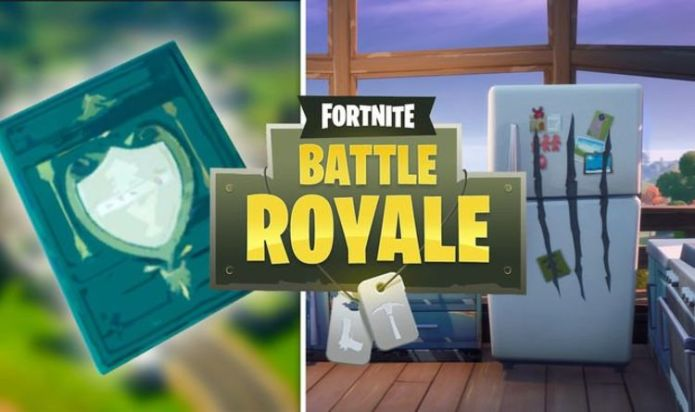 Fortnite cookbooks at Pleasant Park and Craggy Cliffs map locations for Week 14 challenge