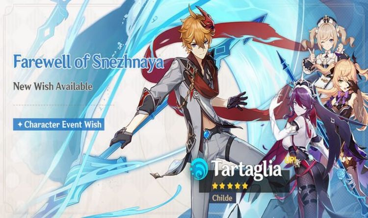 Genshin Impact Childe Banner rerun includes Rosaria release date
