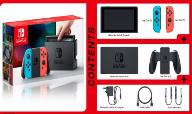 Nintendo Switch Price set for the UK, Switch box content specs confirmed