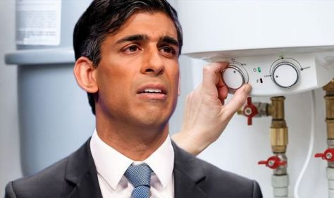 Rishi told to scrap EU VAT on gas bills as Brits face 'choice between heating and eating'