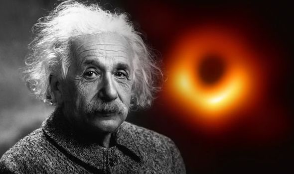 black hole pictures proves