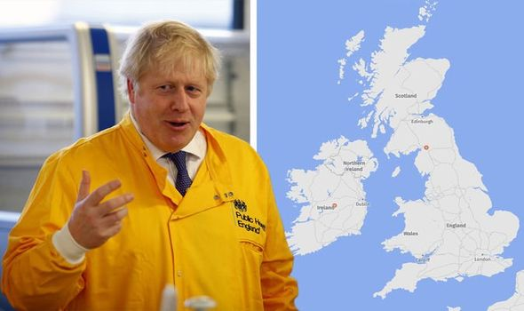Coronavirus in UK LIVE tracker: Follow live map as COVID-19 ...