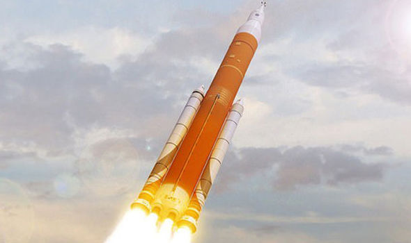 Nasa space launch system 2017
