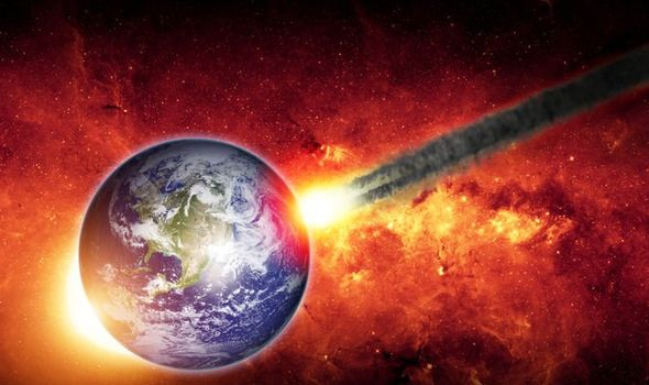 Natalie Starkey fears a rogue asteroid could affect Earth