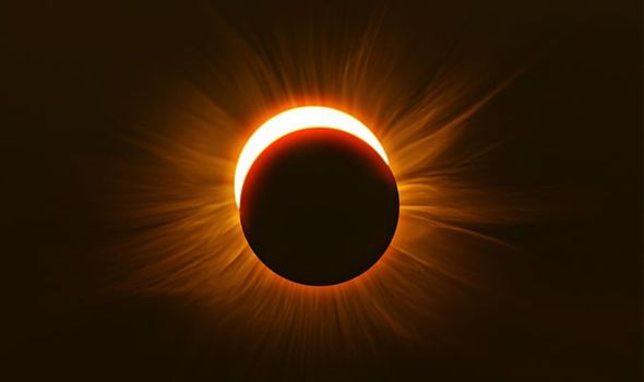 solar eclipse today how
