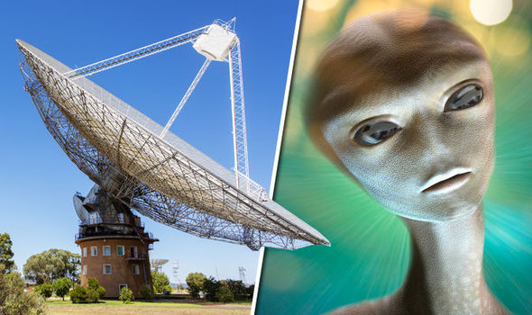 Has the telescope picked up signals of aliens from another galaxy?