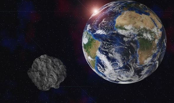 Asteroid set to pass Earth in New Year as NASA reveals 'Near Earth' approach